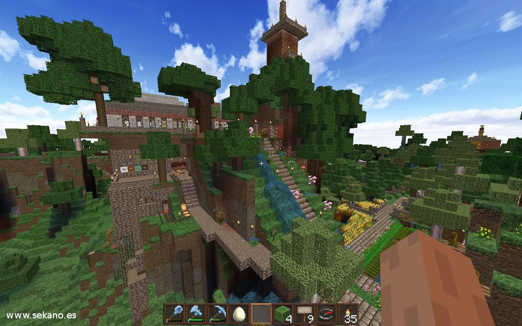 Mundo de Minecraft