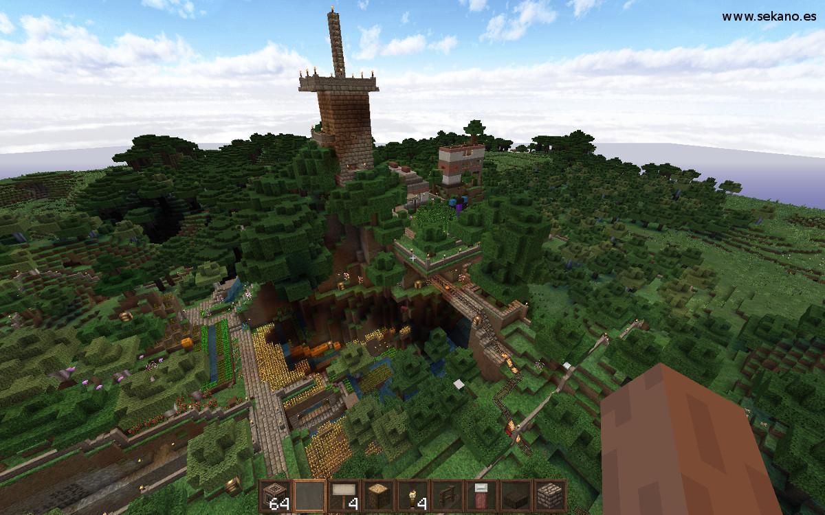 Estación de Teletransporte en Minecraft 1.8 – Desde el Sekano
