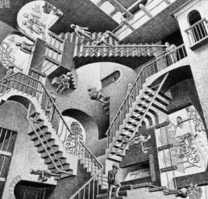 Relativity de M.C.Escher